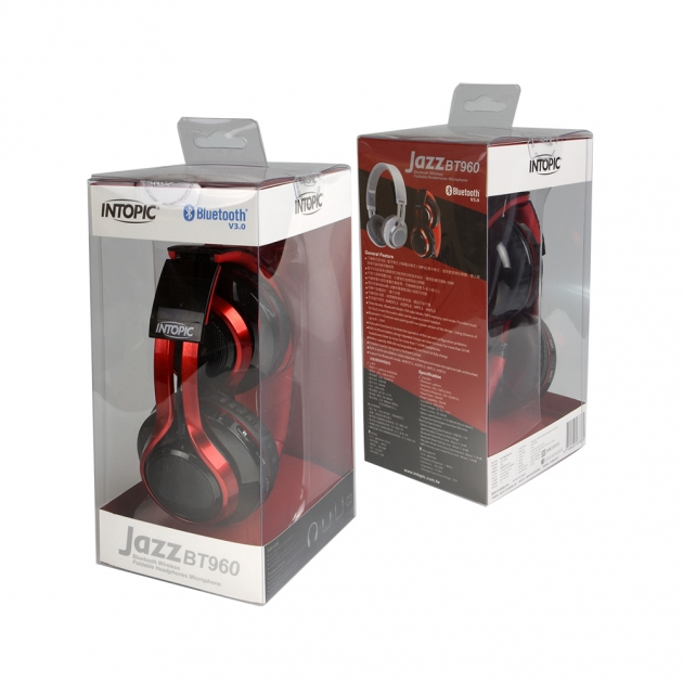 JAZZ-BT960 Wireless Folding Headphones Microphone 4