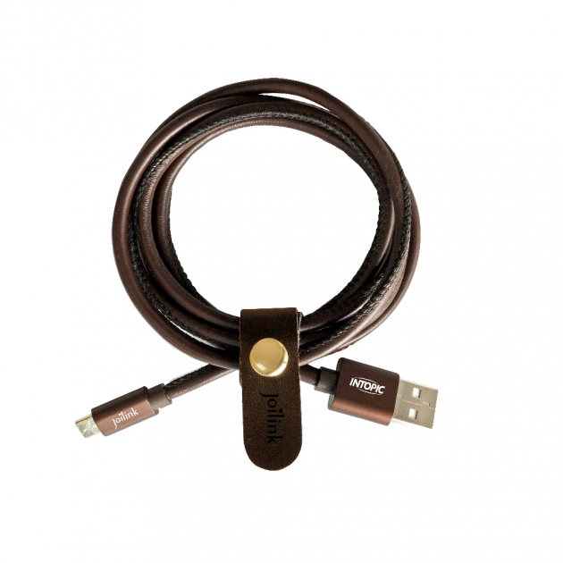 CB-MUC-07 Micro USB Leather style Cable 2