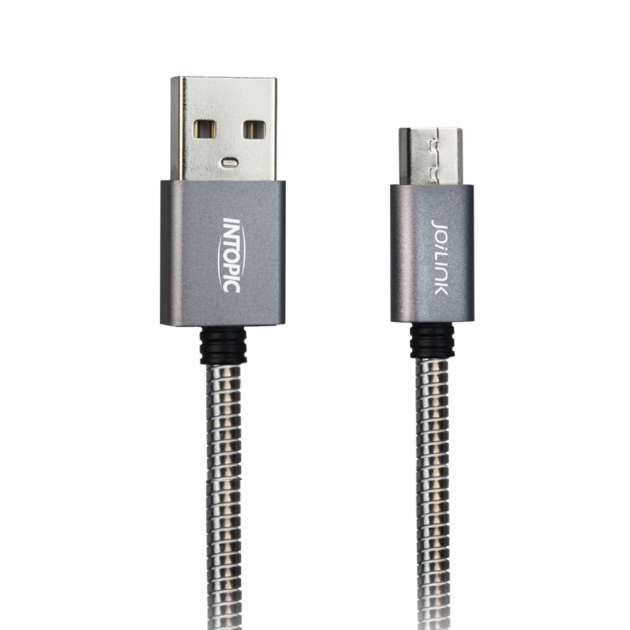 CB-MUC-12 Micro USB Stainless Steel Cable 1