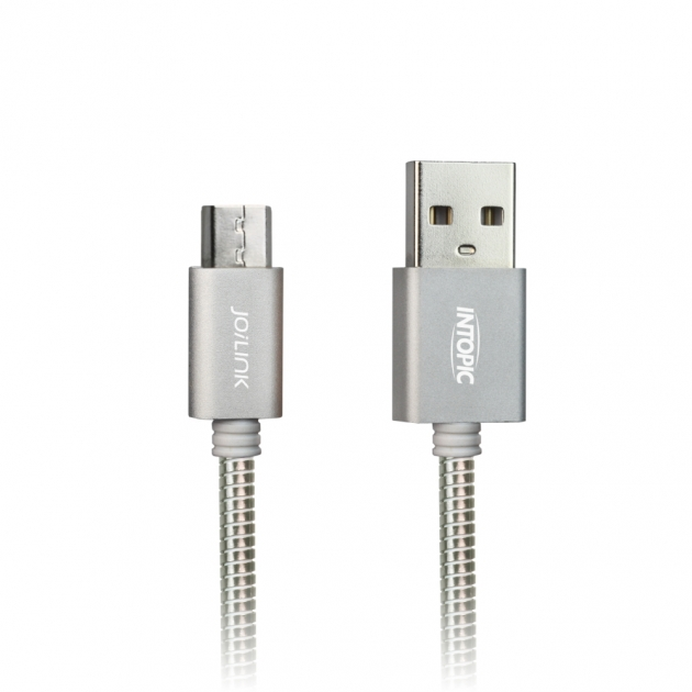 CB-MUC-12 Micro USB Stainless Steel Cable 2