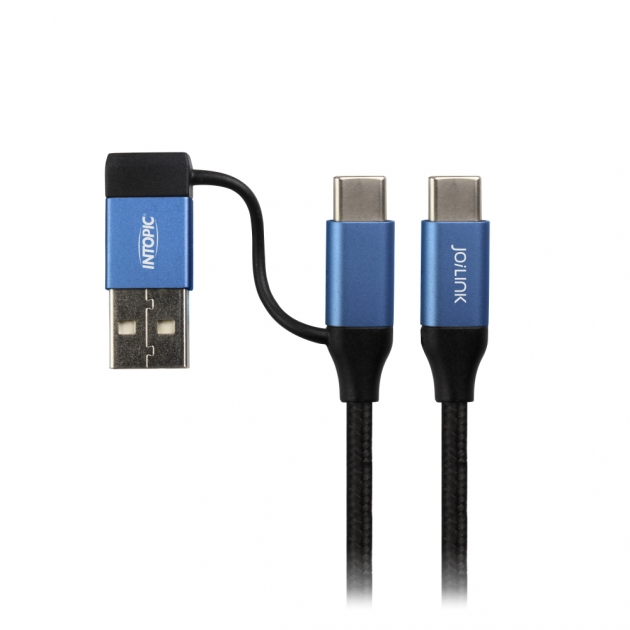 CB-CTC-18 Type-C 2in1 PD Fast Charging Cable 2