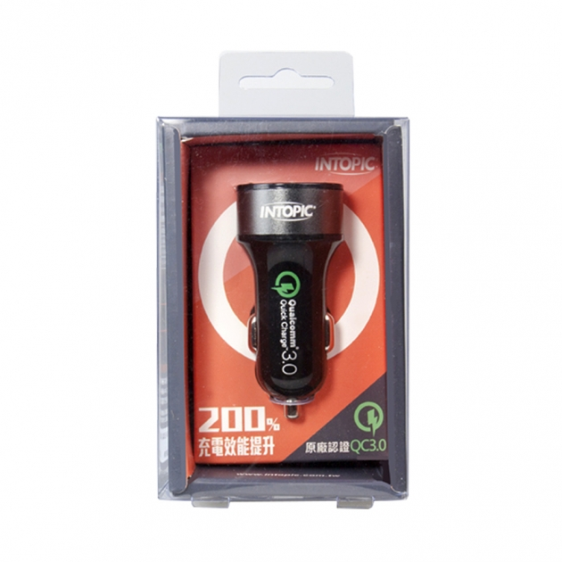 CU-005 Quick Charge 3.0 Car Charger 3