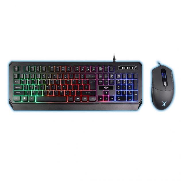 FXR-CKM-09 Singularity Gaming Keyboard Mouse Combo 1
