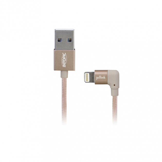 CB-IUA-06 MFI 90 degree angled elbow type Lightning cable 3