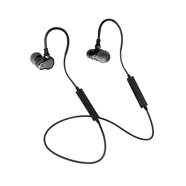JAZZ-BT32 AptX dual moving coil wireless earphone 1