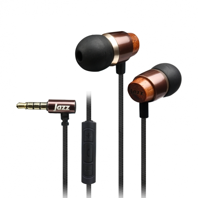 JAZZ-i89 In-ear wooden headset 1