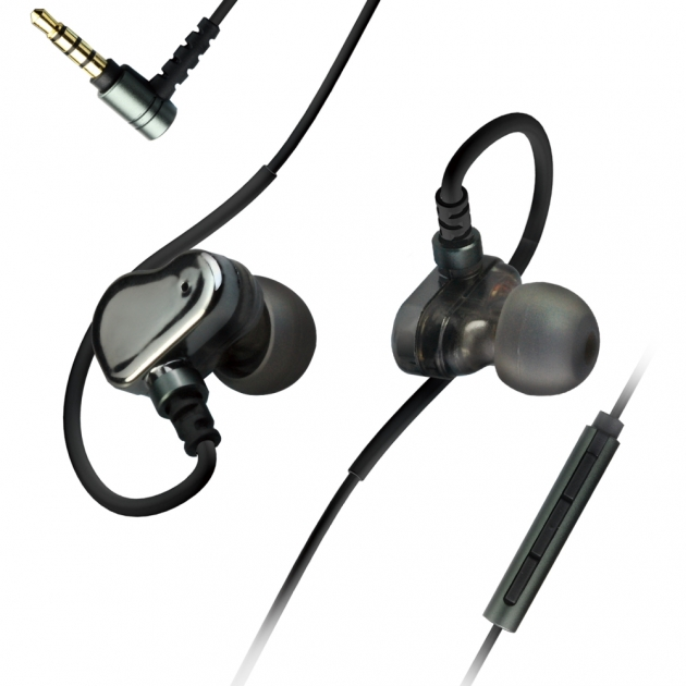 JAZZ-I92 3.5mm Dual moving coil headset 1