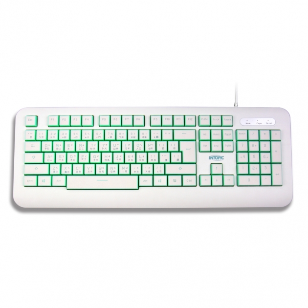 KBD-USB-66 USB shape keyboard 1