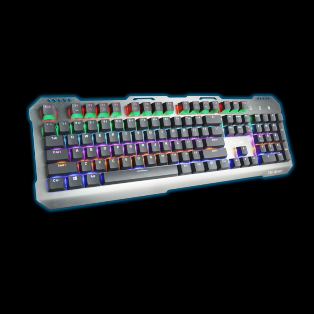 [Discontinued]FXR-HKM-19 Silver Wing Mechanical Gaming Keyboard 2