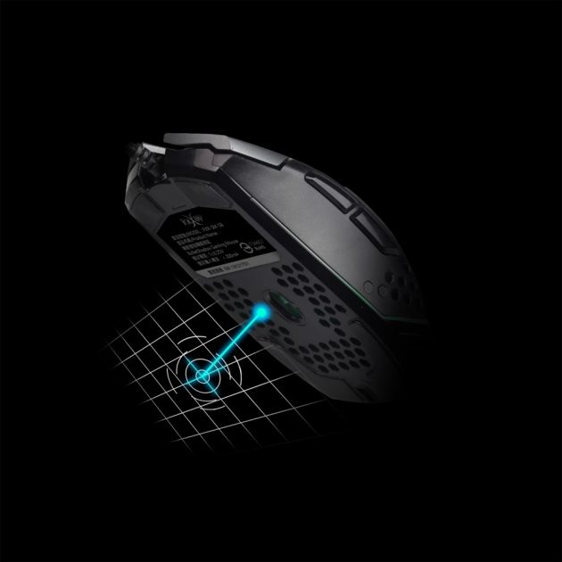 FXR-SM-58 Bullet Shadow Gaming Mouse 3
