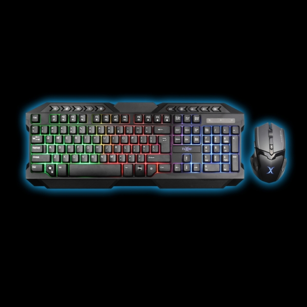 FXR-CKM-10 Mirror Armor Gaming Keyboard Mouse Combo 1